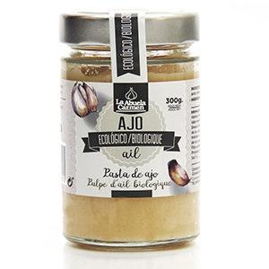 Pasta de ajo Ecológica 300 gramos comprar online la abuela carmen