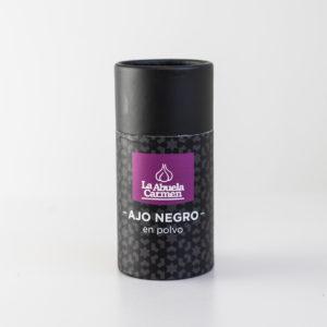 Ajo negro en polvo tarro dispensador 65 G comprar online la abuela carmen