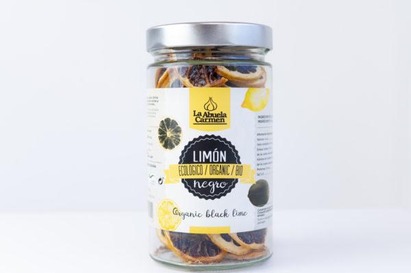 Limón negro ecológico en rodajas comprar online la abuela carmen
